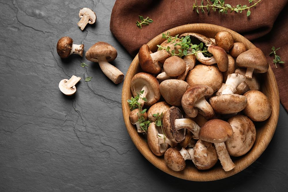 vegan cooking mushrooms